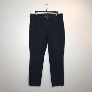 Talbots Flawless Dark Navy Slim Ankle Jeans (J017)
